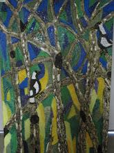 Photo: Magpie Territory Oil 100cmx150cm $350