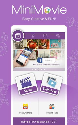 MiniMovie-Slideshow Video Edit screenshot 2