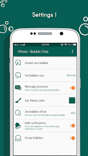 Download Whats – Bubble Chat App For Android 5