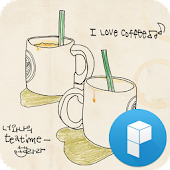 Time to Coffee Launcher Theme