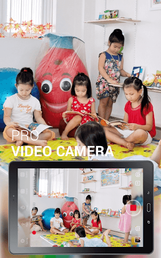 HD Camera Pro app for Android screenshot