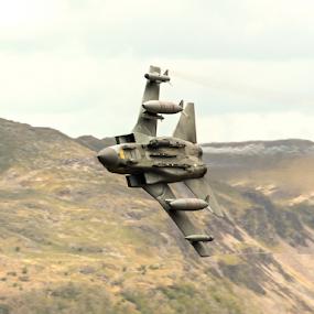 RAF Tornado GR4 by Mike Ellis - Transportation Airplanes