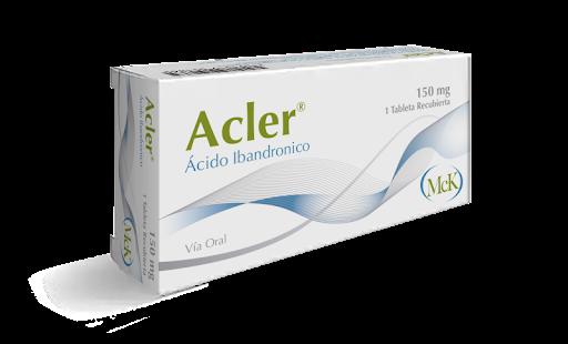 Acido Ibandronico Acler 150Mg 1 Tableta MCK Laboratorio