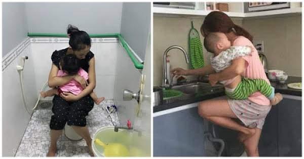 Vợ nghẹn ngào: Đàn bà sinh con khổ đủ đường, ai nói ở nhà chăm con sướng thì xin mời làm thay tôi