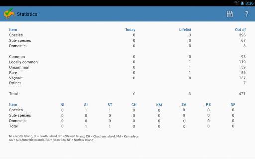NZ Birding Checklist screenshot 16