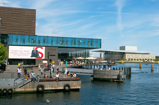 Royal-Danish-Playhouse.jpg - The Royal Danish Playhouse in Copenhagen with the Opera House in the background.