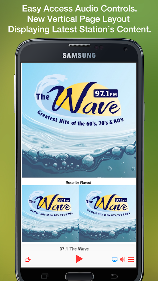 97.1 The Wave- screenshot