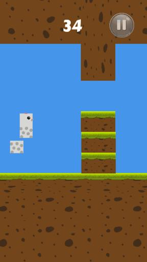 Square Egg Bird : Tower Egg screenshots 1