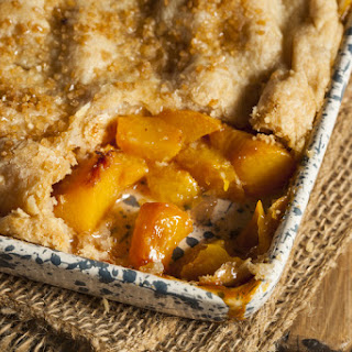 A Classic Peach Cobbler With A Cinnamon Sugar Crust Is Easier To Make Than What You Think