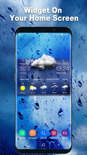 Daily weather forecast widget 16.6.0.6206_50092 screenshots 2