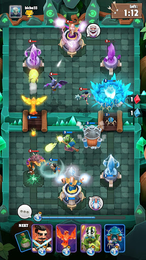 Clash of Wizards: Battle Royale captures d'u00e9cran 1