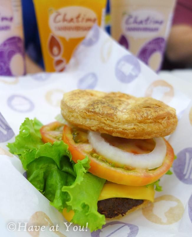 Chatime burger
