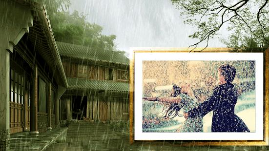 Rain photo frame - Monsoon Photo Frame - náhled