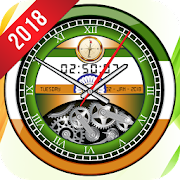 App Indian Clock Live Wallpaper 2018: Widget 3D Clock APK for Windows Phone