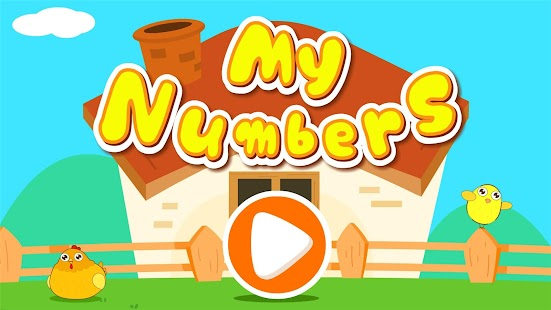 My Numbers - Free for kids- screenshot thumbnail
