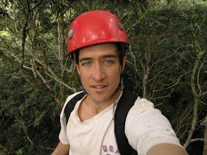 Photo: In the canopy, about 80 feet off the ground.