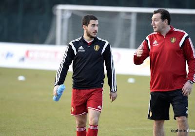 """Wilmots: """"Hazard et De Bruyne sont capables de jouer ensemble"""""""