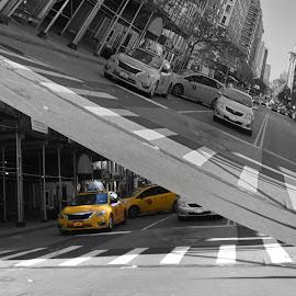 Sub-Street by Lorraine D.  Heaney - Digital Art Places