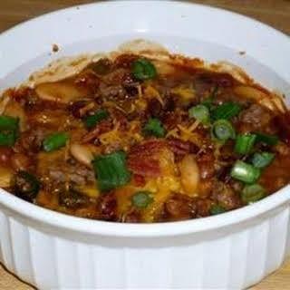 Three Bean Potluck Casserole.