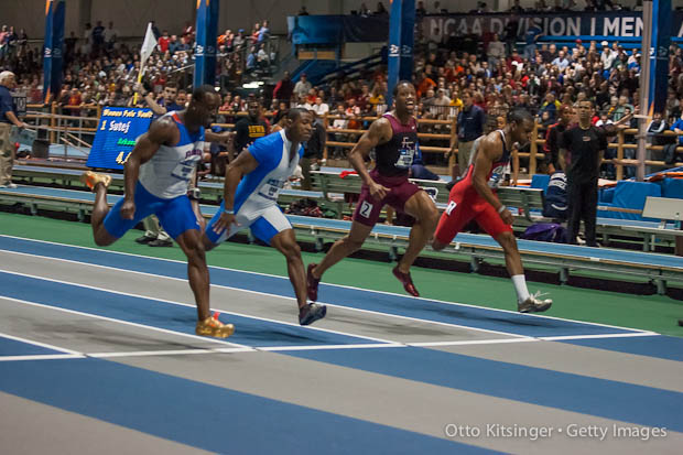 Photo: NCAA D1 Indoor Track and Field Championships. Otto Kitsinger/Getty Images