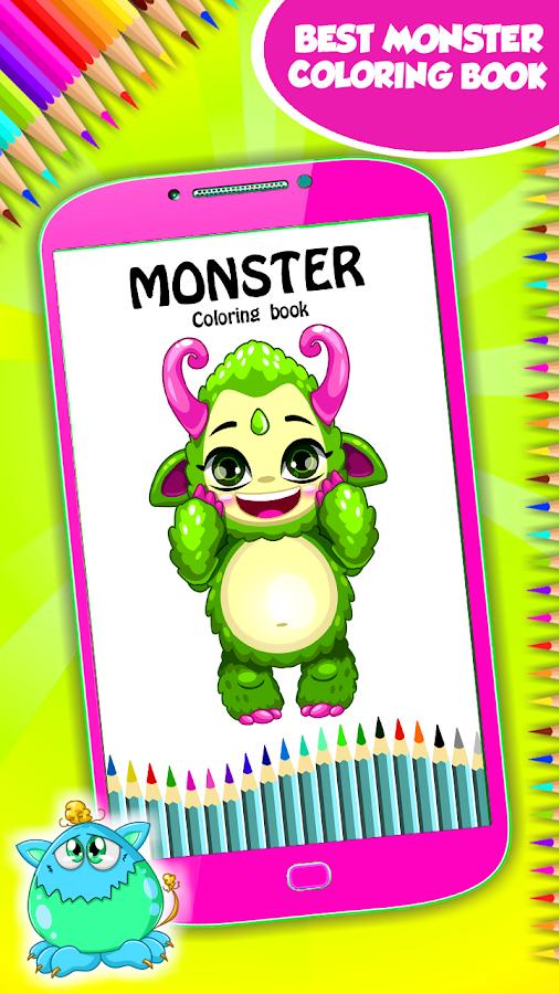 Atemberaubend Monster Färbung Bilder Fotos - Dokumentationsvorlage ...