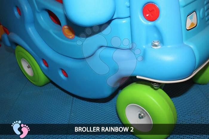 Xe chòi chân Broller Rainbow 2 10