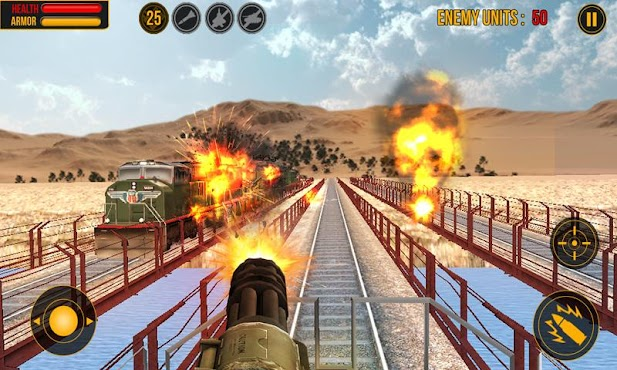 Island Train Shooter 3D v1.0.1