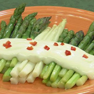 Cold Poached Asparagus