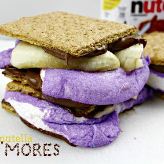 Banana Nutella Peeps S'Mores.