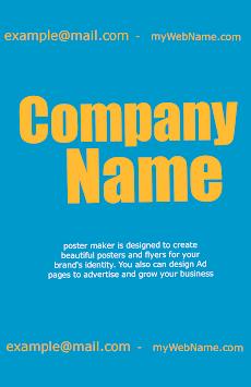 poster maker flyer designer ads page designer androidアプリ