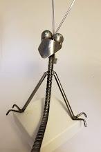 "Photo: ""Alien"" Adam Homan artist Tuscon Arizona"