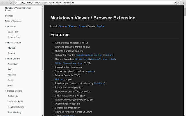 Markdown Viewer
