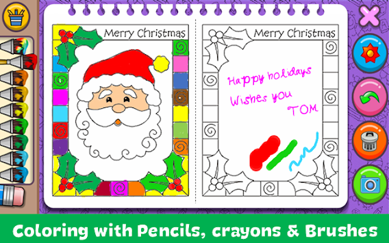 Christmas Coloring Book By Orange Studios Games Poster