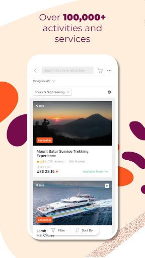 Klook: Travel & Leisure Deals 5.43.0 Screenshots 4