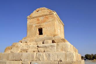 Photo: Pasargade - grobowiec Dariusza