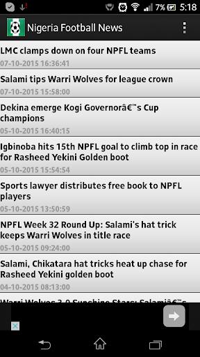 Nigeria Football News