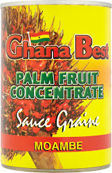 Ghana Best Palm Fruit Concentrate Sauce Graine Moambe - 400g