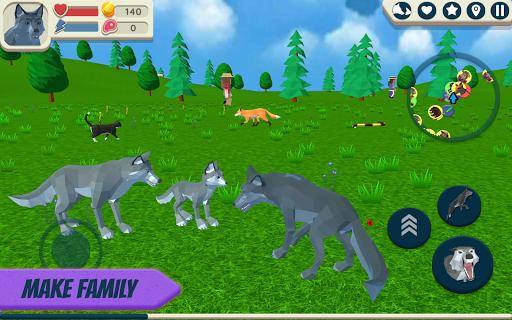 Wolf Simulator: Wild Animals 3D 1.047 screenshots 15