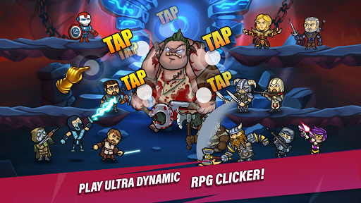 Taptic Heroesuff0dIdle Tap Adventure,RPG clicker games android2mod screenshots 5