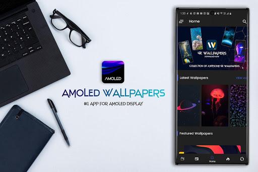 AMOLED Wallpapers 4K - Auto Wallpaper Changer 5.1 screenshots 1