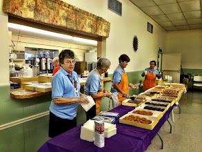 Photo: Doing donut duty......