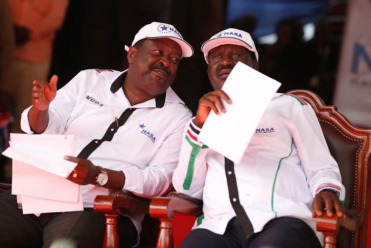 Raila, Mudavadi antagonism intensifies over 2022 endorsement