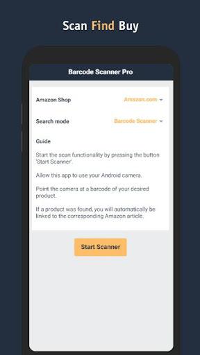 Barcode Scanner Pro for Amazon Shopping 1.0.14 screenshots 1