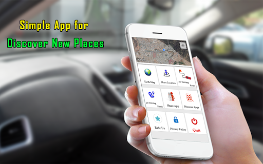 Earth Map Live GPS : Navigation & Tracking Route 1.2.5 screenshots 10