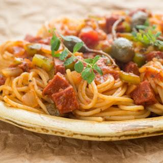 Espaguetis Recipe (Spaghetti a la Dominicana)