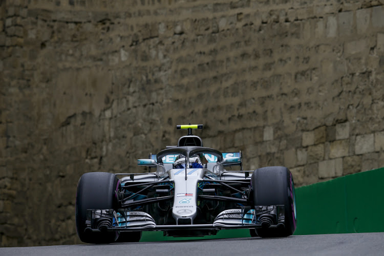Valtteri Bottas was unlucky at the Azerbaijan GP after a puncture robbed him of victory three laps from the end of the race