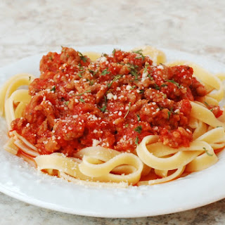 Quick and Easy Homemade Italian Sausage Pasta Sauce.