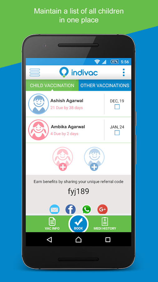 INDIVAC - Doorstep Vaccination- screenshot