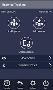 Genie Expense Tracker - náhled