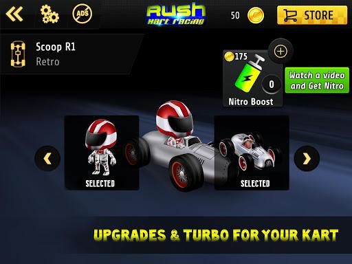 Kart Rush Racing - 3D Online Rival World Tour apkpoly screenshots 3
